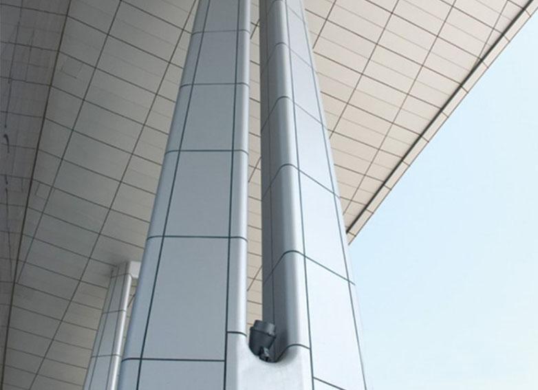 成都氟碳铝单板的施工注意事项