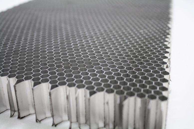 蜂窝铝板芯