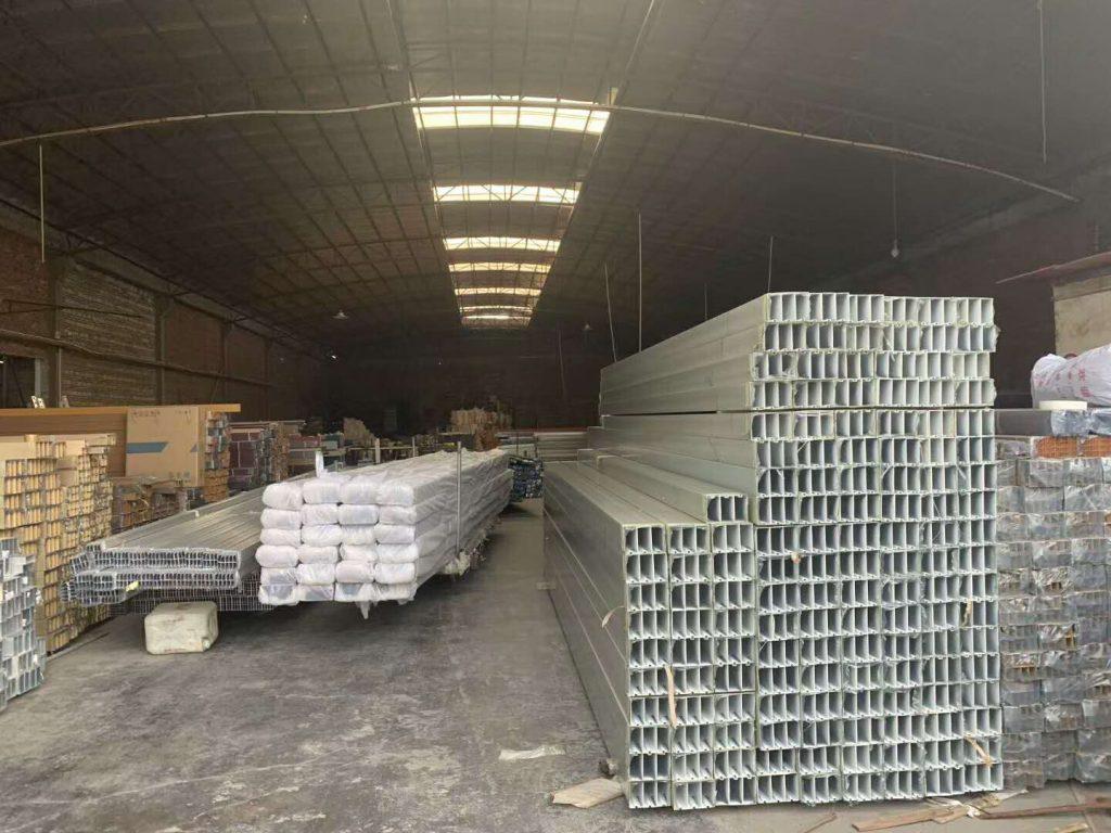 成都铝方通加工生产全过程