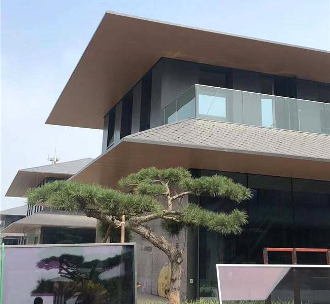 盘点下氟碳铝单板可以用在建筑的哪些地方?