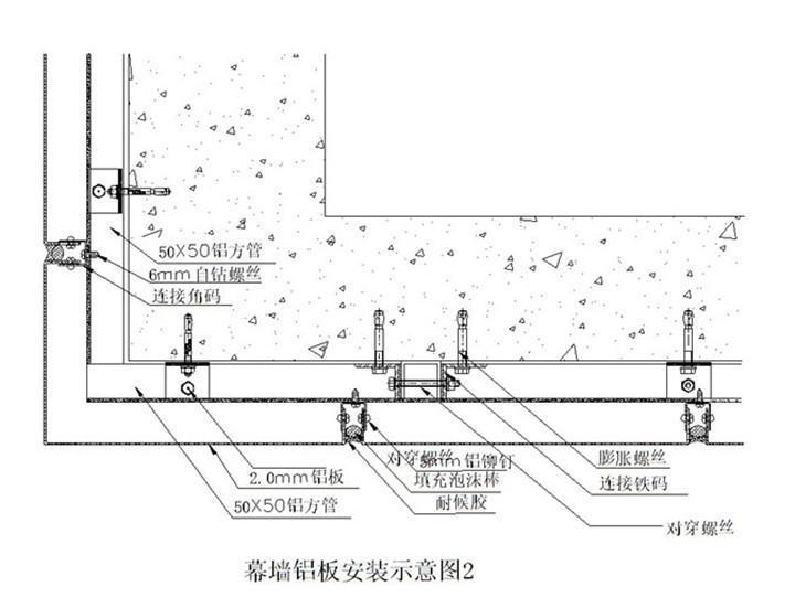 安装幕墙铝单板施工工艺注意细节!
