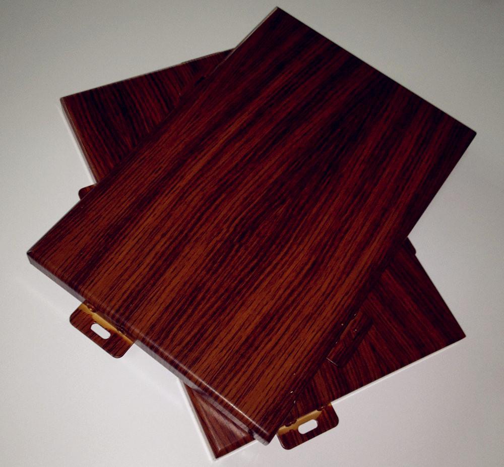 工艺品—木纹铝单板的诞生